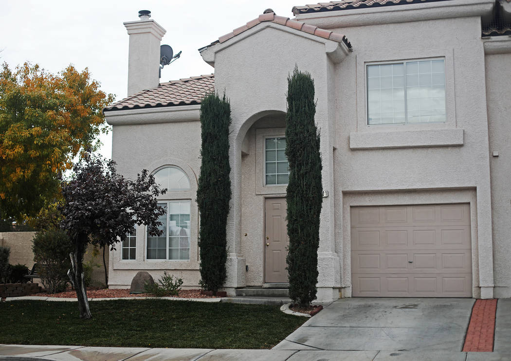 Margarita DeLoach's formerKing Futt's PFM rental home in Henderson, Tuesday, Nov. 19, 201 ...