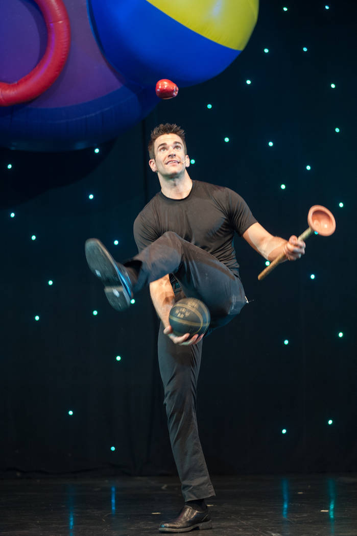 """Entertainer Jeff Civillico performs during his one-man show """"Jeff Civillico: Comedy in Action"""" ..."""