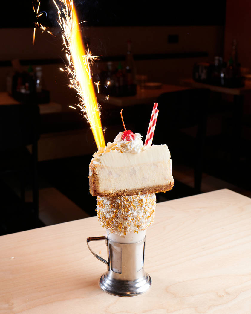 The Holiday Shake from Black Tap (Black Tap Craft Burgers & Beer)