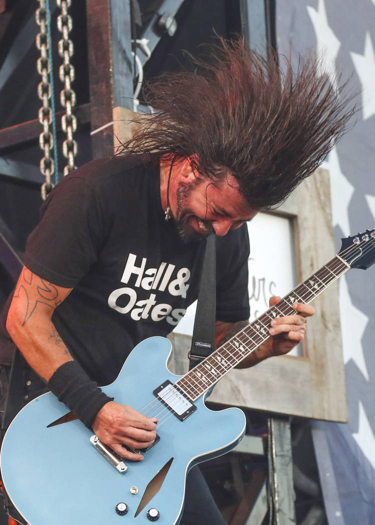 Dave Grohl of the Foo Fighters performs at Pilgrimage Music and Cultural Festival at The Park a ...