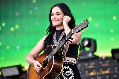 Kacey Musgraves performs at LakeShake at FirstMerit Bank Pavilion on Friday, June 17, 2016, in ...