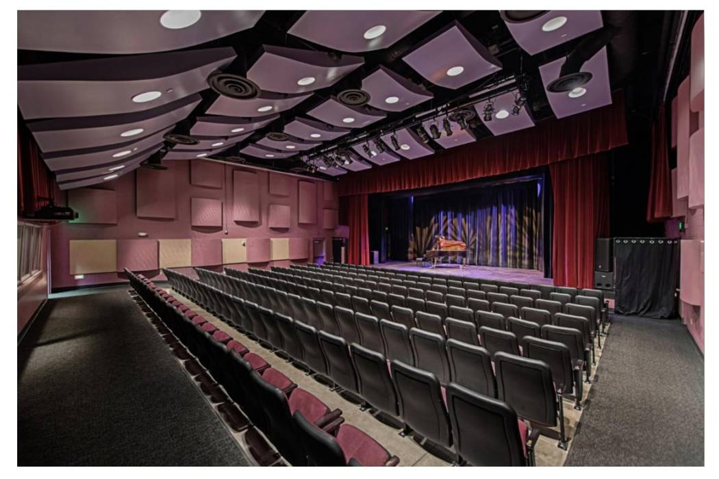 Whitney Library's auditorium in southeast Las Vegas is pictured. (Courtesy of Whitney Library)