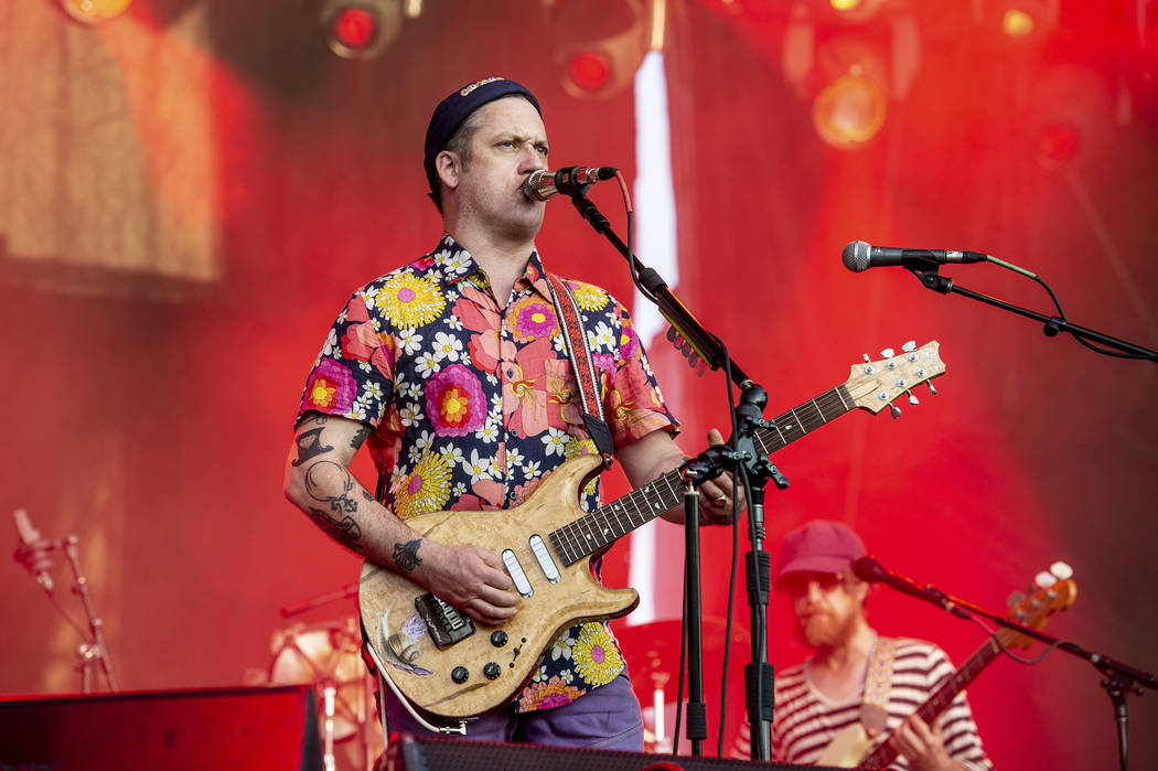 Isaac Brock of Modest Mouse performs at the Voodoo Music Experience in City Park on Sunday, Oct ...