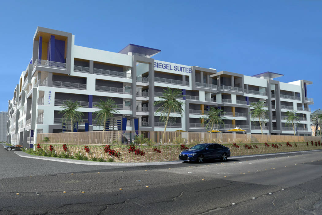The Siegel Group plans to tear down the shuttered former Atrium hotel east of the Las Vegas Str ...