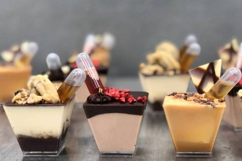 Freed's Bakery will offer alcohol-infused mini-cups for $3.85 each through New Year's Eve. (F ...