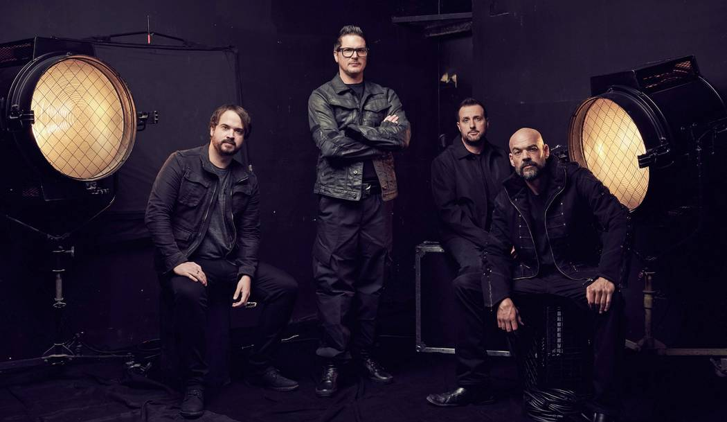 "The ""Ghost Adventures"" team left to right: Jay Wasley, Zak Bagans, Billy Tolley, Aaron Good ..."