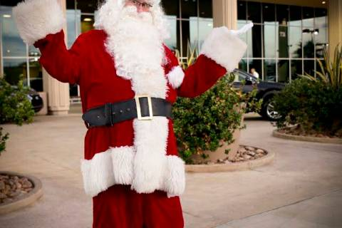 Santa Claus will be parking his sled at Lexus of Henderson Dec. 14. (Lexus of Henderson)