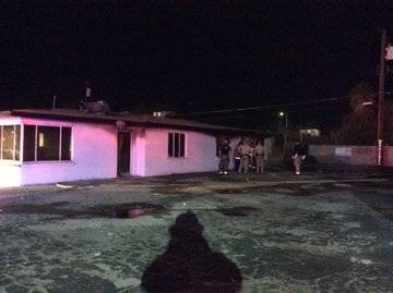A victim was found in a vacant brick building at 2019 Paradise Road in central Las Vegas early ...