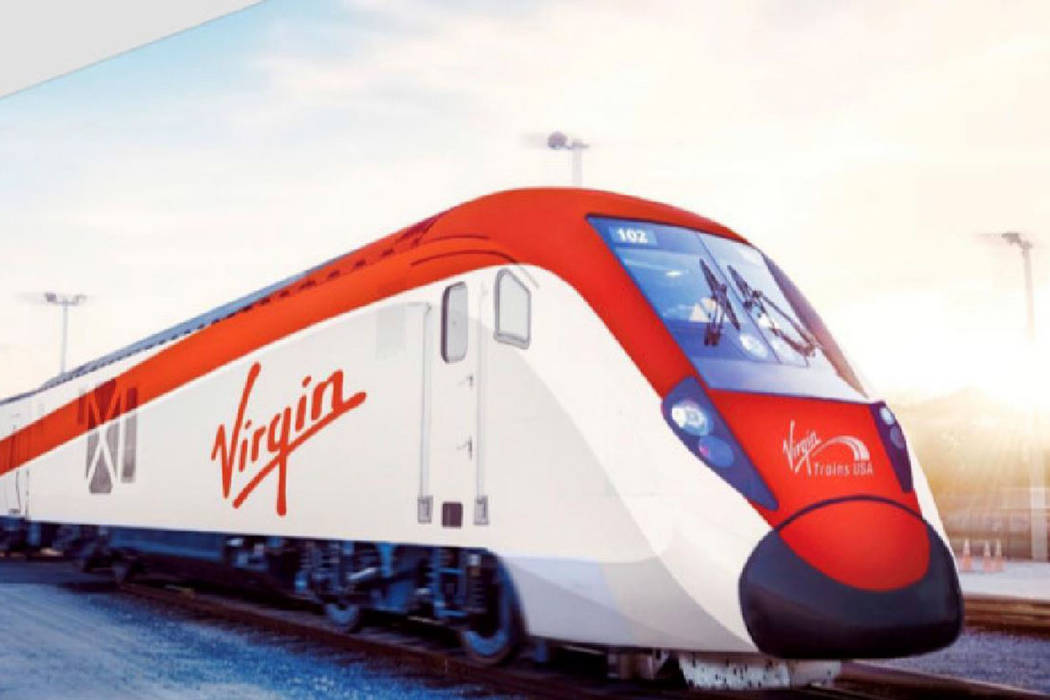 Clark County officials vowed their support Tuesday of the financing plan Virgin Trains is set t ...