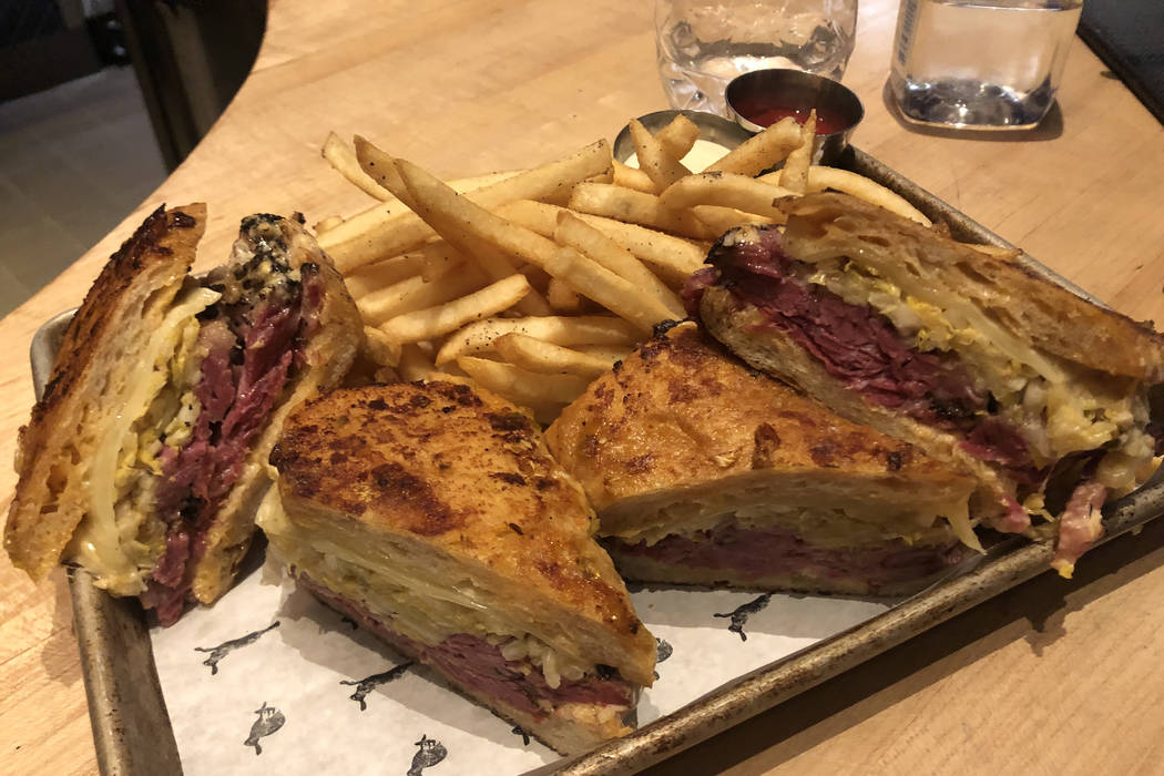 Libertine Social's massive, house-made short-rib pastrami is made to feed four to six people. ( ...
