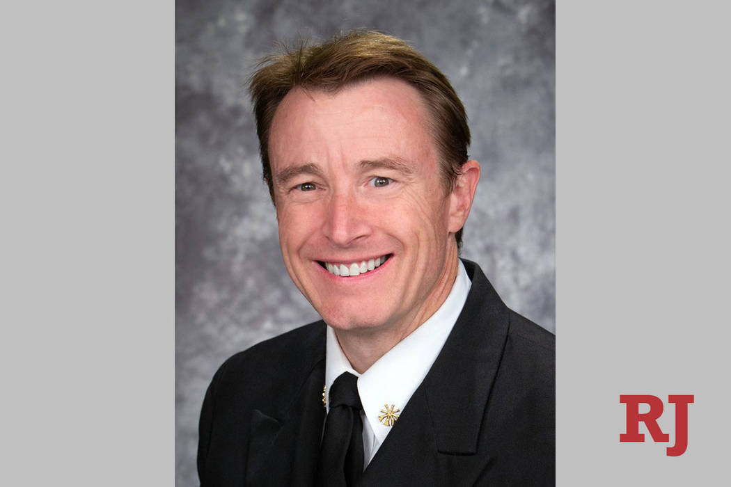 John Steinbeck, Clark County deputy fire chief, will officially take the helm of the Fire Depar ...