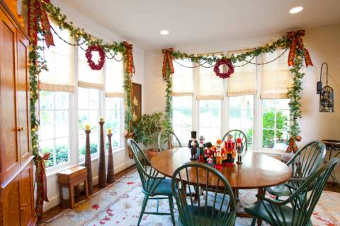 There are ways to incorporate holiday accessories into your existing decor without making your ...