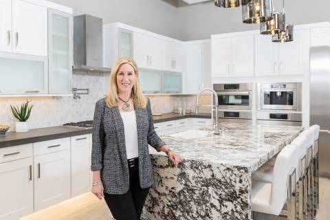 Pardee Homes Design Studio Director Diane Salas stands in the new 6,100 square-foot design stud ...