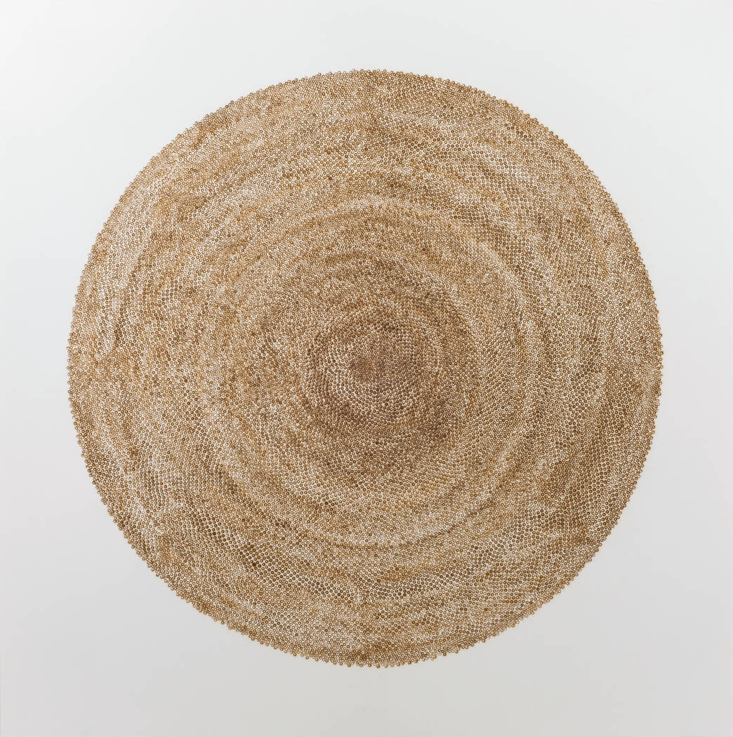 Christopher McNulty, 20193 Days, 2007, Burnt Paper