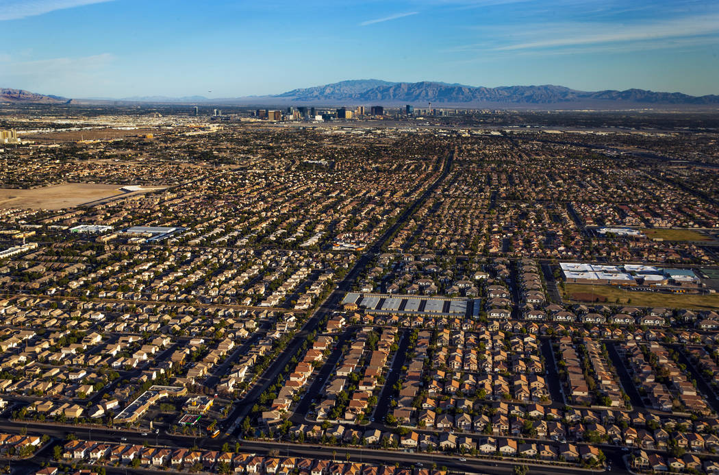 Las Vegas home prices forecast to fall in...