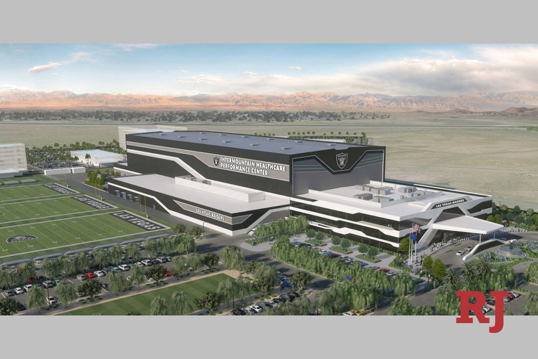 Intermountain Healthcare signed a founding sponsorship deal with the Raiders, renaming the Hend ...