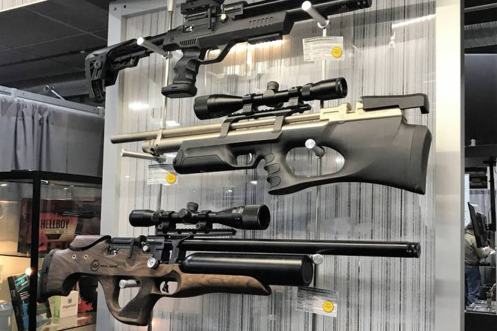 Today's modern air guns offer recreational shooters a wide variety of designs and shooting ex ...