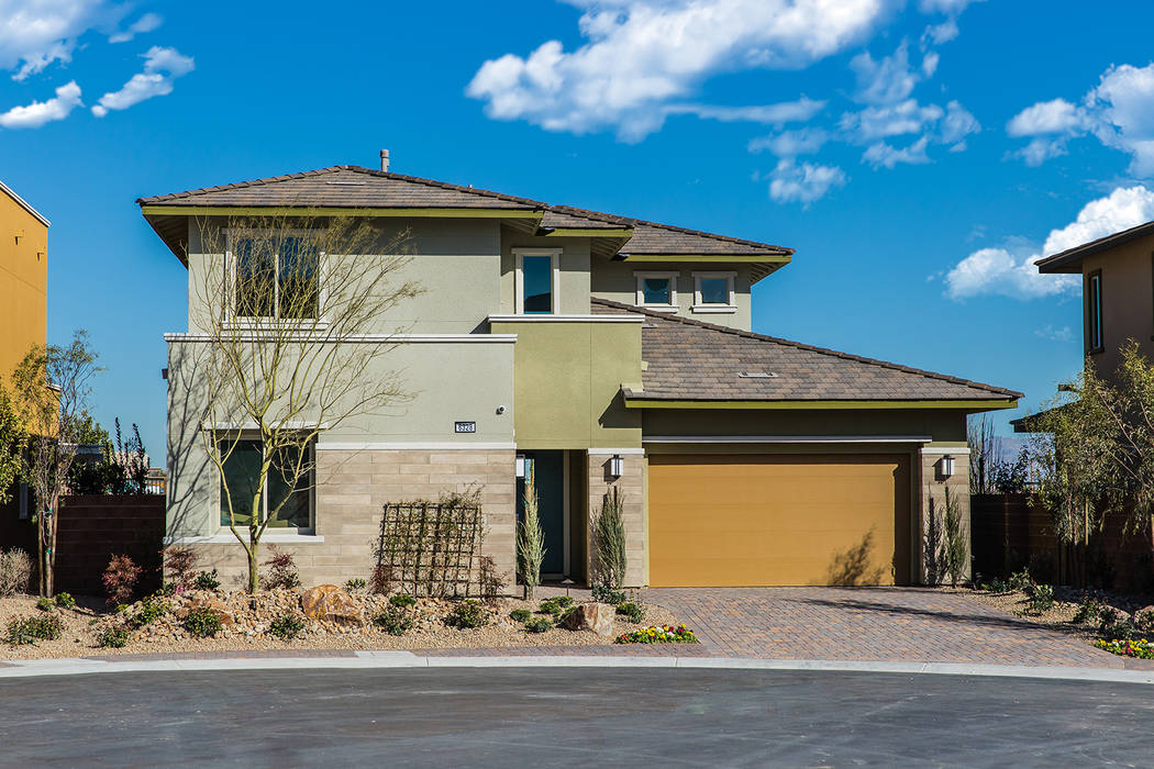 More than two dozen new homes in Summerlin are available for immediate or near move-in, just in ...
