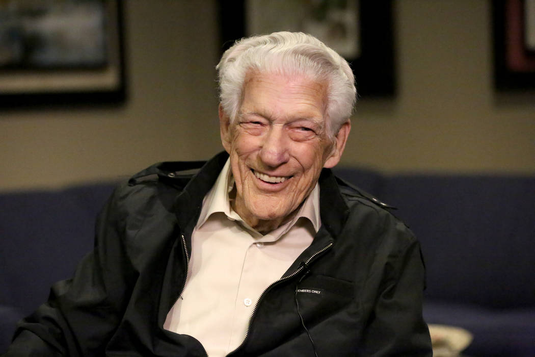 Pearl Harbor Survivor, Ed Hall, shares memories from his time in the service during WWII on Tue ...