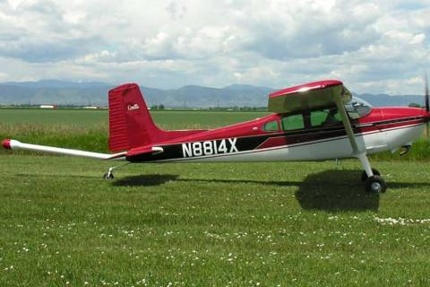 It is likely, but not confirmed, that a Cessna 180 will be used for the low-level flights. The ...