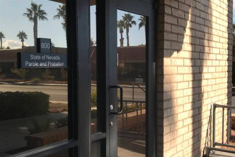 A satellite office for the Nevada Department of Public Safety's Division of Parole and Probatio ...