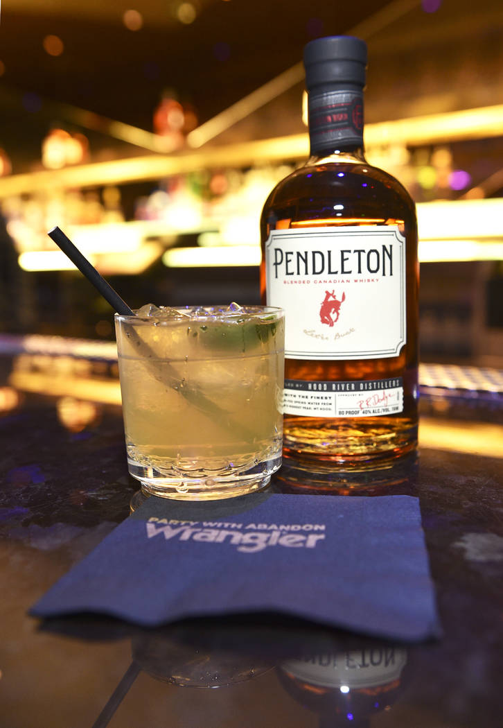 Pendleton Wiskey and the Rodeo Rita during the WNFR Party With Abandon at the Ling Ling Club in ...