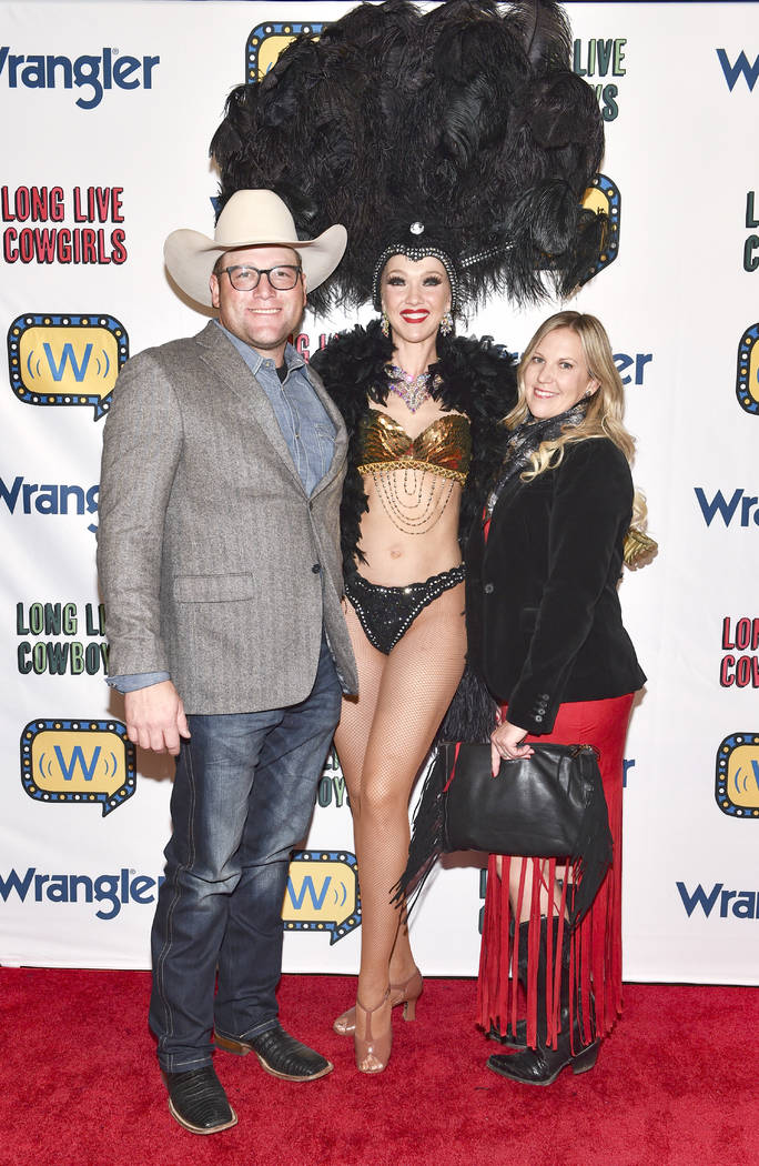 Coleman Proctor (L) attends the WNFR Party With Abandon at the Ling Ling Club in Hakkasan Las V ...