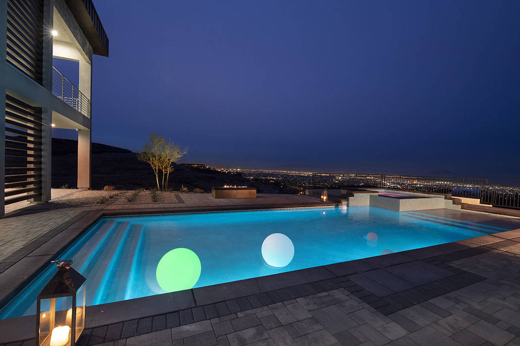 The home has sweeping views of the valley. (Synergy Sotheby's International Realty)