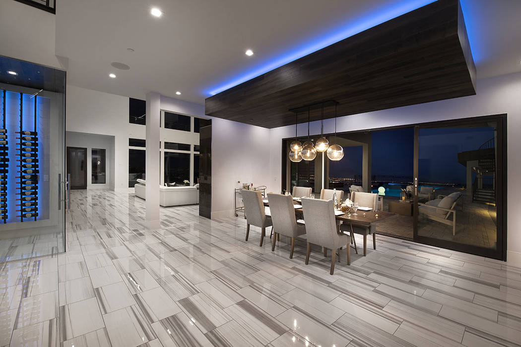 The dining room. (Synergy Sotheby's International Realty)