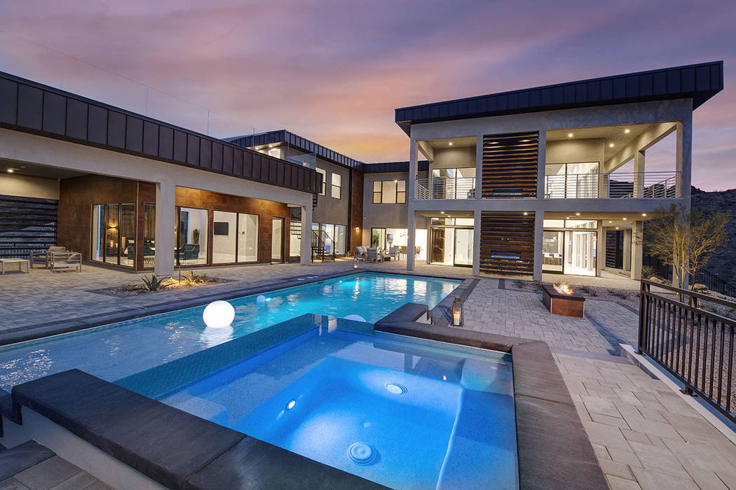 This 8,600-square-foot home at 629 Dragon Peak Court is listed for $5.45 million. (Synergy Soth ...