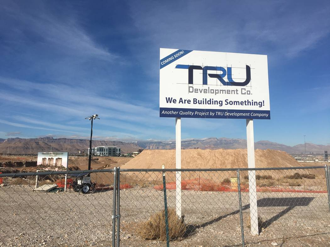 Tru Development Co. has filed plans to build an apartment complex near Buffalo Drive and the 21 ...
