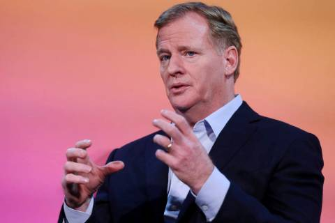 NFL Commissioner Roger Goodell discusses a new initiative with AWS that will transform player h ...