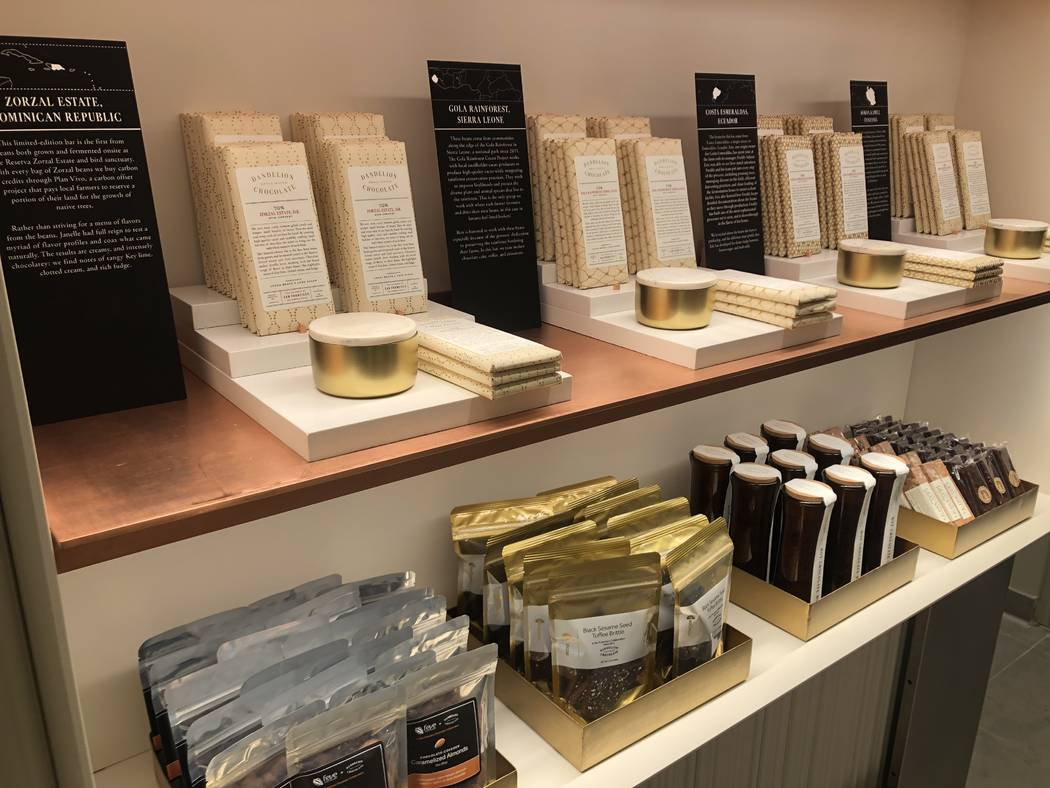 Dandelion Chocolate opens Saturday at The Venetian (Al Mancini)