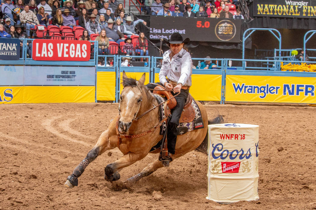 Lisa Lockhart is on her 14th consecutive trip to the season-ending Wrangler National Finals Rod ...
