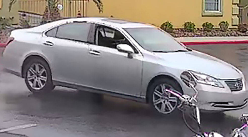 The type of Lexus sedan North Las Vegas police say is connected to an attempted home invasion. ...
