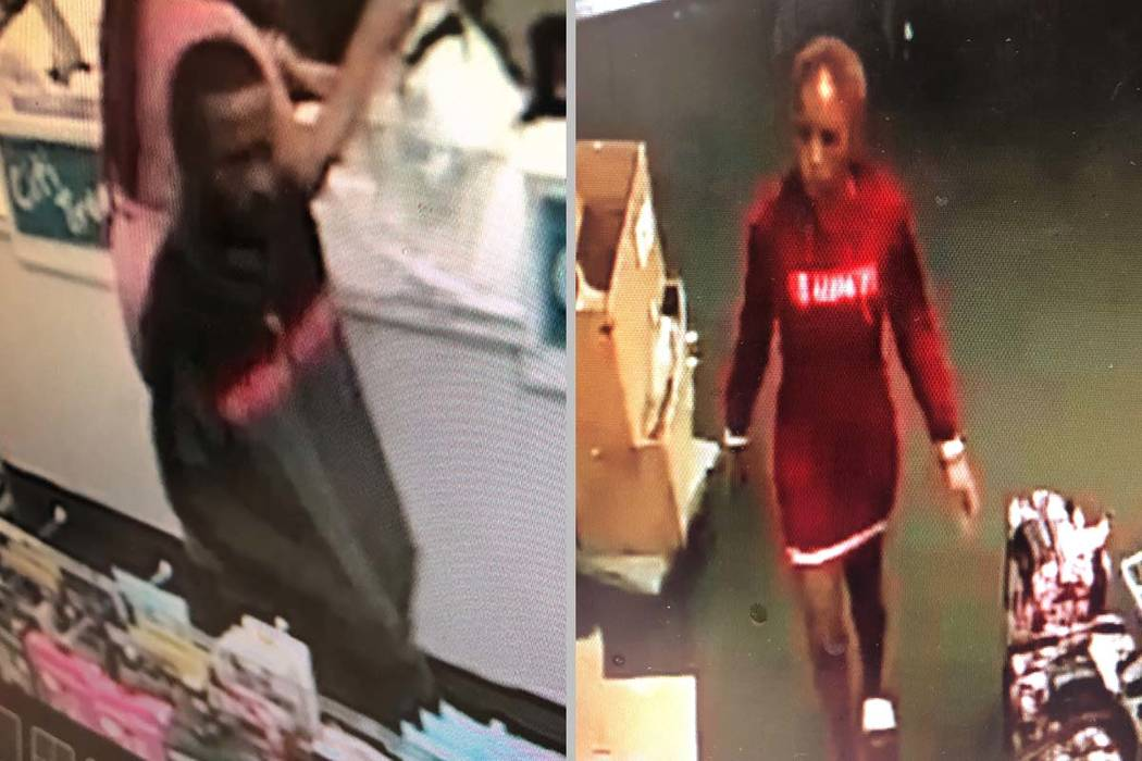 Las Vegas police are looking for two people who carried out a robbery in early November. (Las V ...