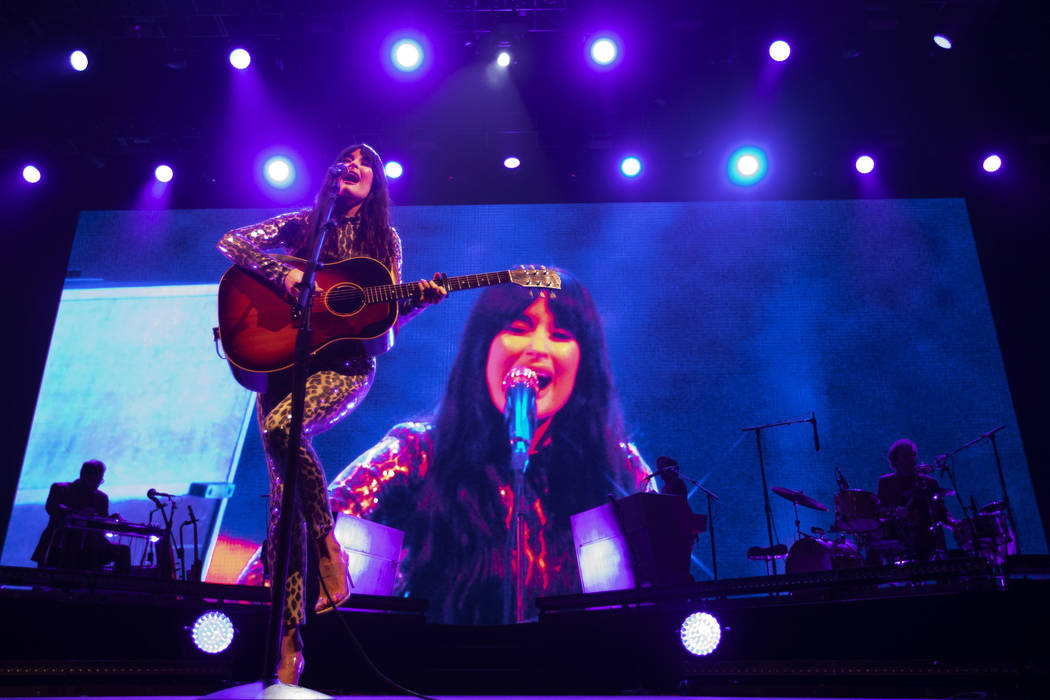 Kacey Musgraves sings songs from her Grammy-winning album, Golden Hour, at Intersect Festival o ...