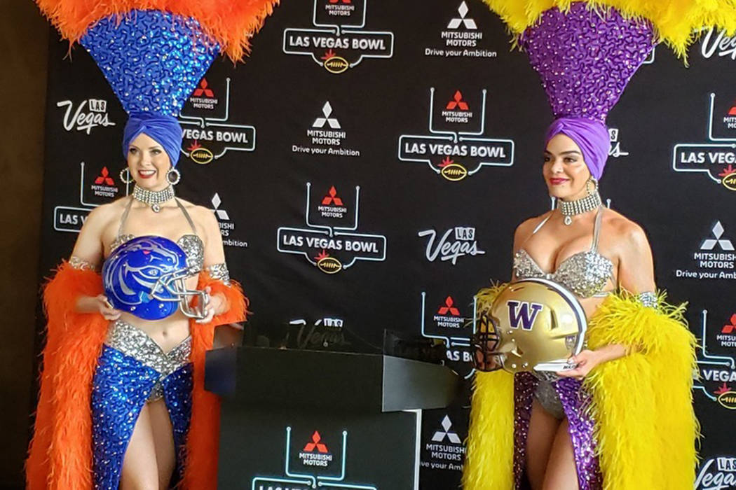 Washington will play Boise State in the Las Vegas Bowl on Dec. 21 at Sam Boyd Stadium, the game ...