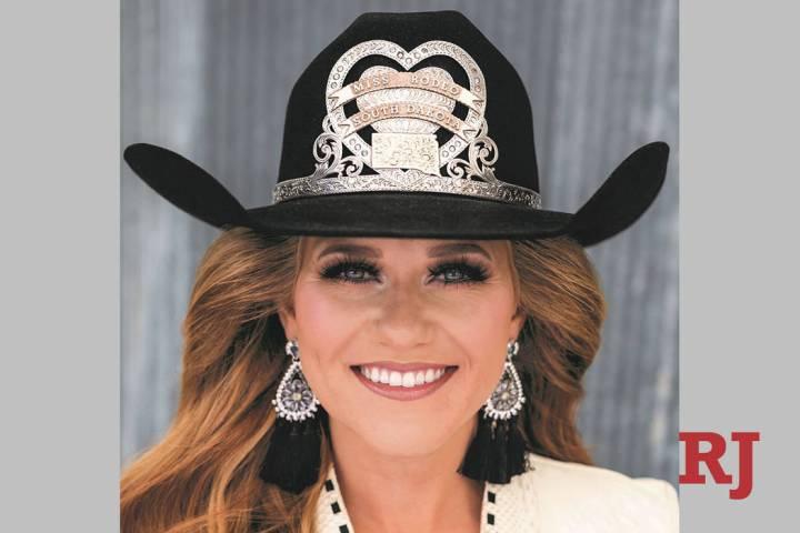 Jordan Tierney of South Dakota was crowned Miss Rodeo America 2020 on Sunday, Dec. 8, 2019, in ...
