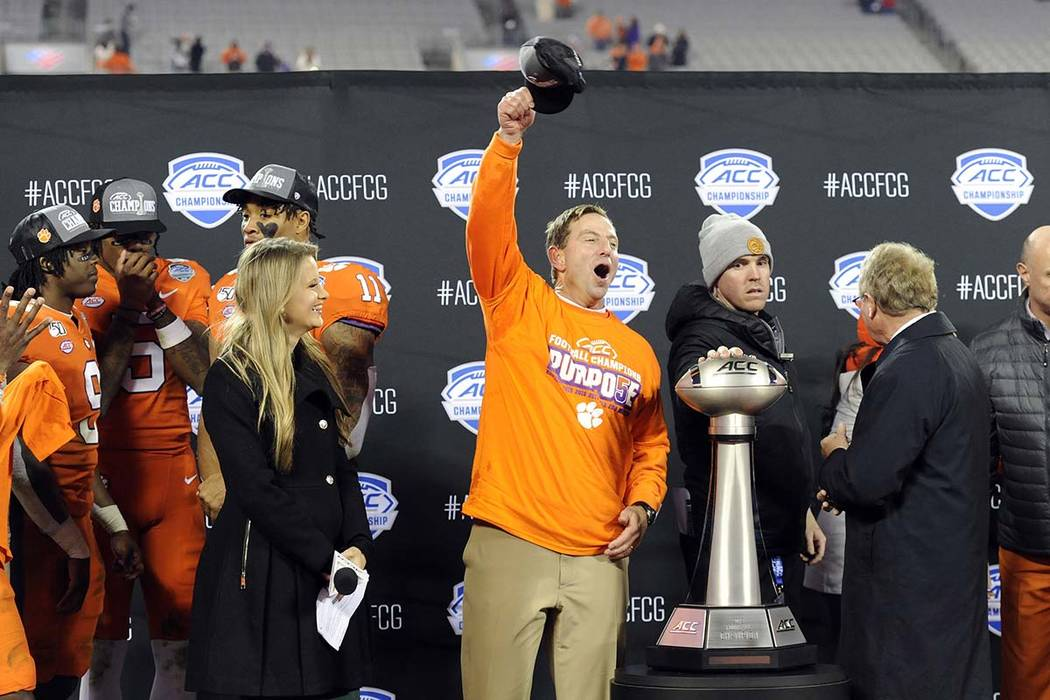 College Football Playoff betting lines: Clemson by 2 over ...