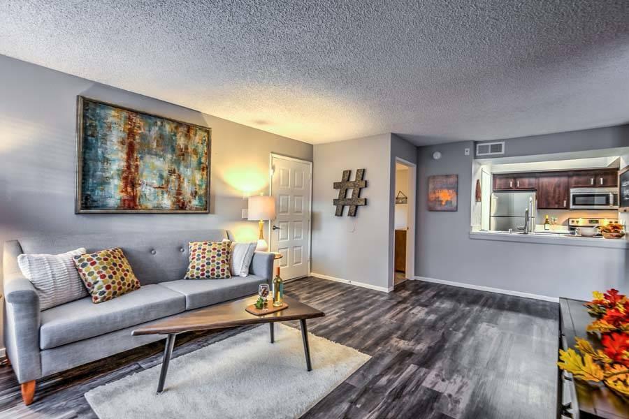NexPoint Residential Trust acquired Las Vegas apartment complex Bella Solara, seen here, as par ...