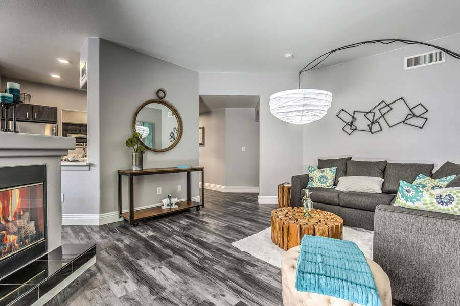 NexPoint Residential Trust acquired Las Vegas apartment complex Bloom, seen here, as part of a ...