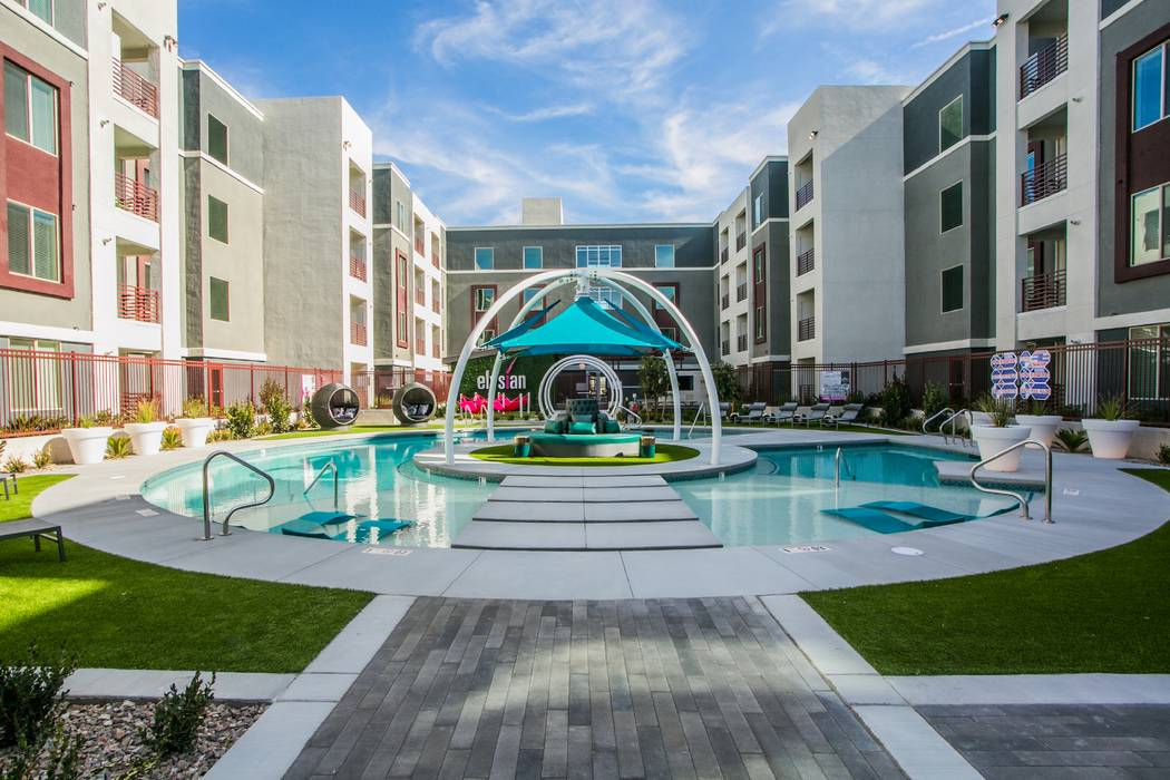 A related entity of NexPoint Residential Trust acquired Las Vegas apartment complex Elysian at ...