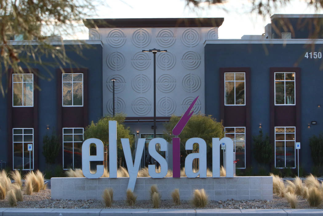 The Elysian at Flamingo, an apartment complex, at 4150 S. Hualapai Way is seen on Wednesday, De ...