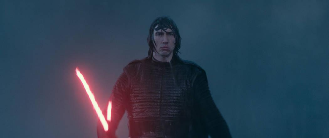 Adam Driver is Kylo Ren in STAR WARS: THE RISE OF SKYWALKER (Lucasfilm)
