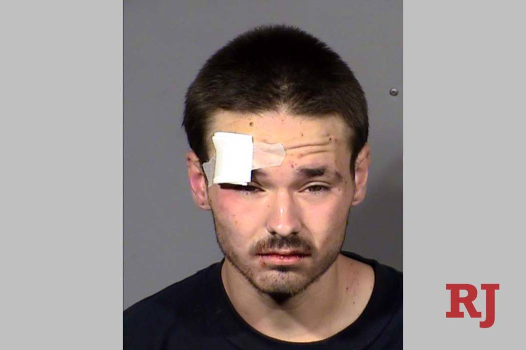 Benjamin Smith is charged with murder in the death of Daniel Garcia III, 25, of Las Vegas. Garc ...