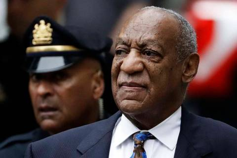 n a Sept. 24, 2018, file photo Bill Cosby arrives for his sentencing hearing at the Montgomery ...