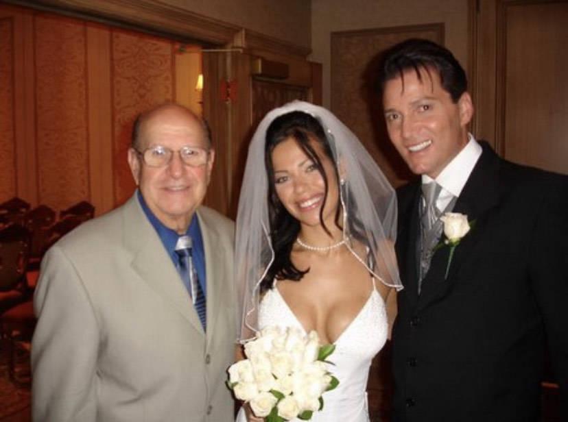 Joe Esposito is shown at the 2005 wedding of Trent Carlini and Amanda Duarte-Trentacarlini. (Am ...