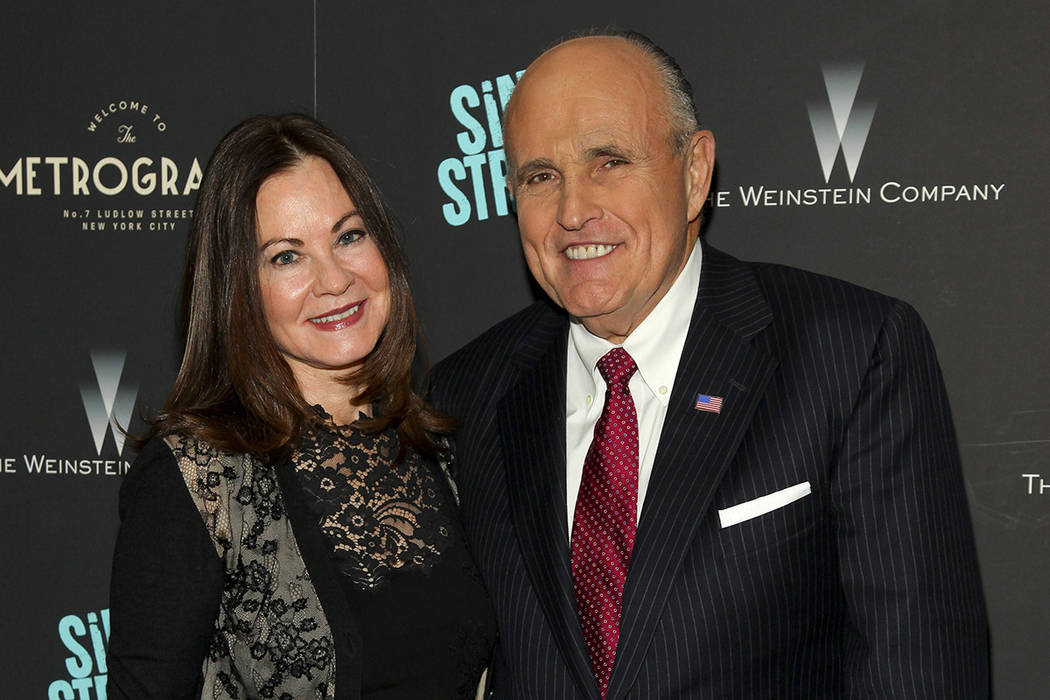 Rudy Giuliani settles long divorce from 3rd...