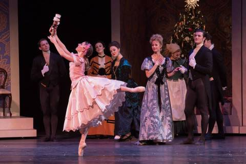 "Nevada Ballet Theater is performing ""The Nutcracker"" at The Smith Center. (Virginia Trudeau)"